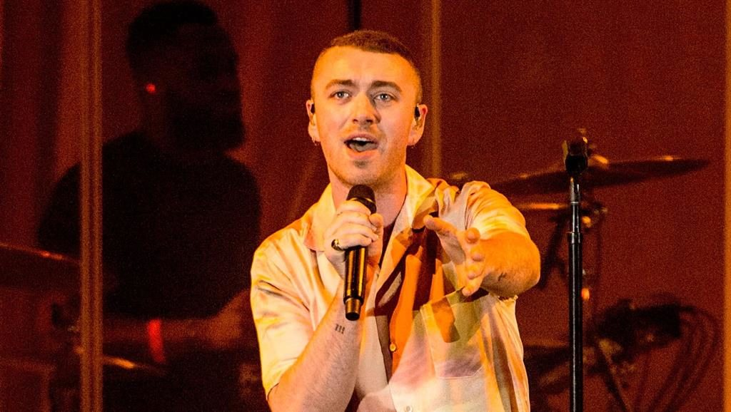 Selfconscious: Sam Smith is too controlled for messy emotions PICTURE: GETTY