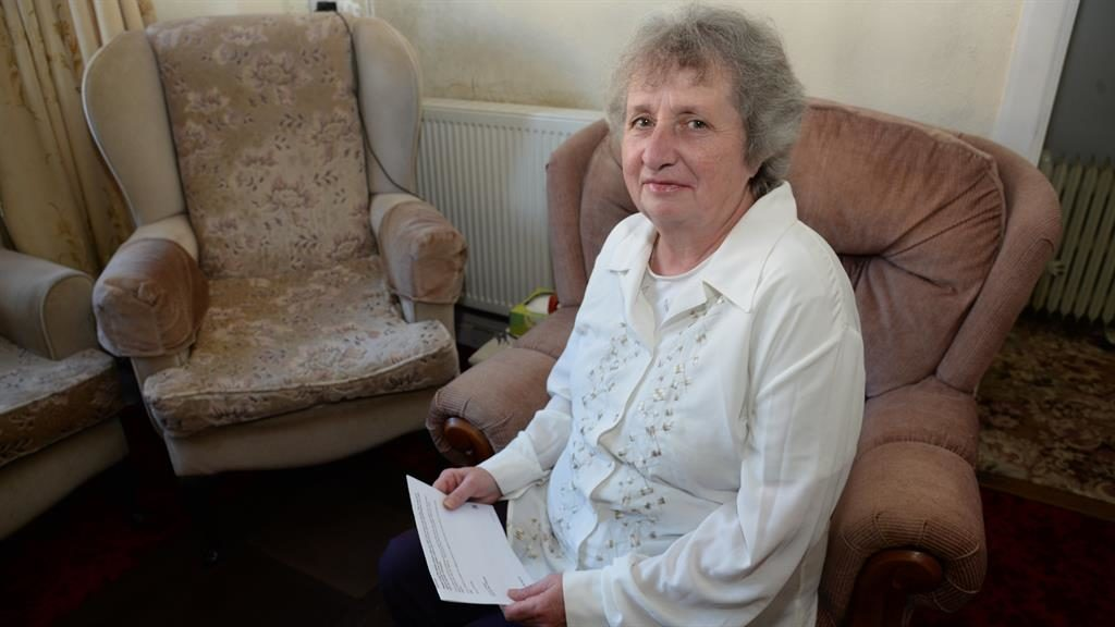 Long battle: Mrs Geale spent ten months with lower benefits PICTURE: SWNS