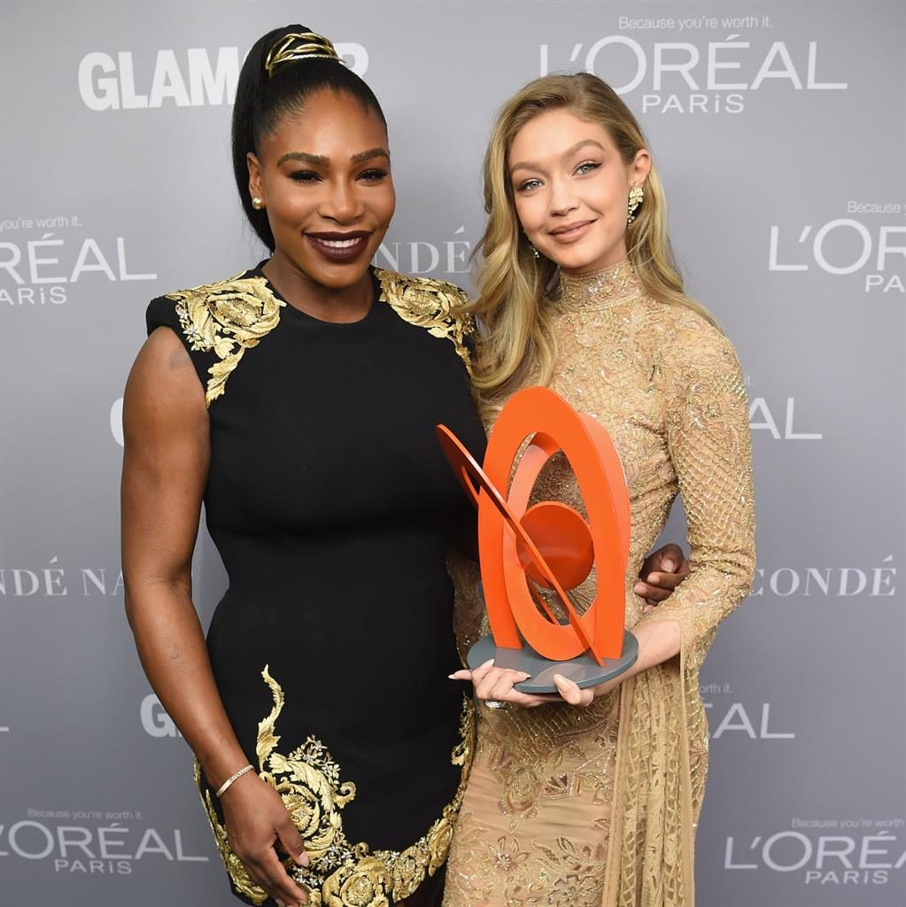 My role model Serena praised model Gigi at awards bash
