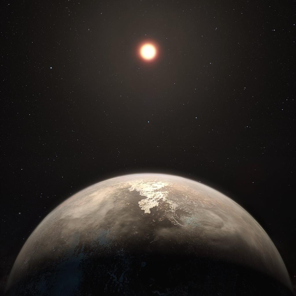 Earth-mass temperate exoplanet found close by