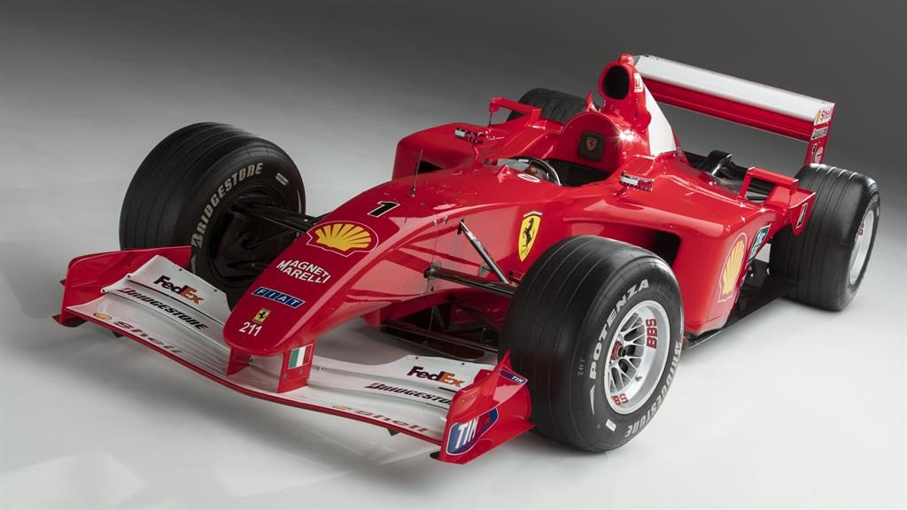 Schumacher Ferrari sets auction record - but is it art?