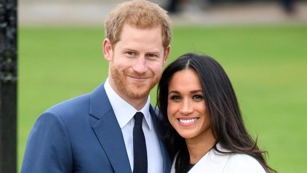 Wedding bells: Prince Harry and Meghan Markle announced their engagement at Kensington Palace this week