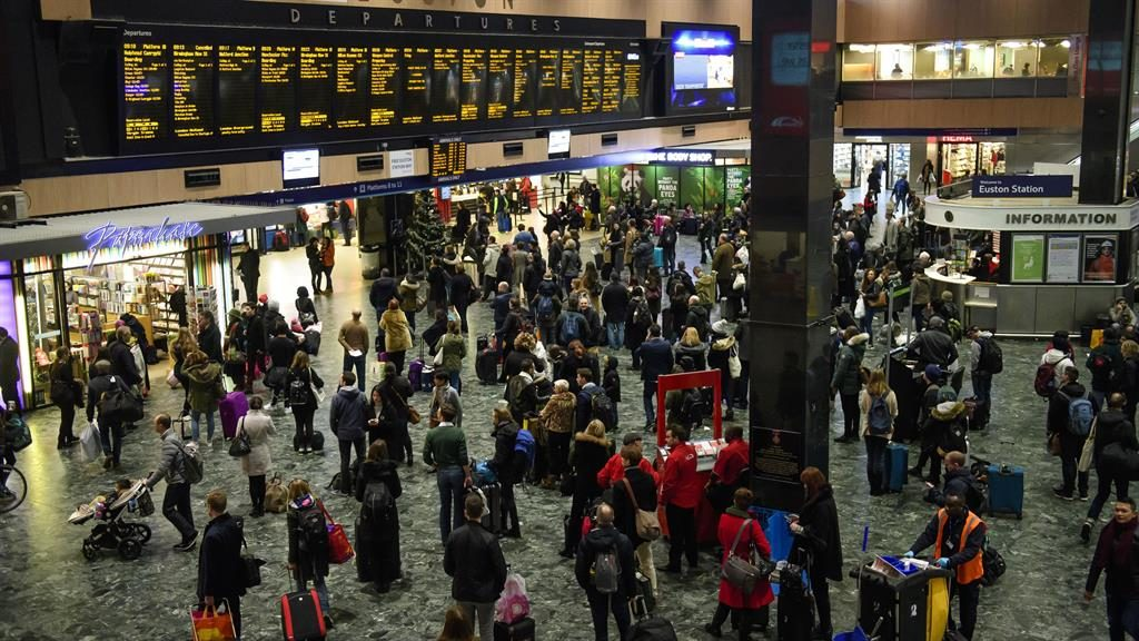 West Coast main line disrupted after cables damaged