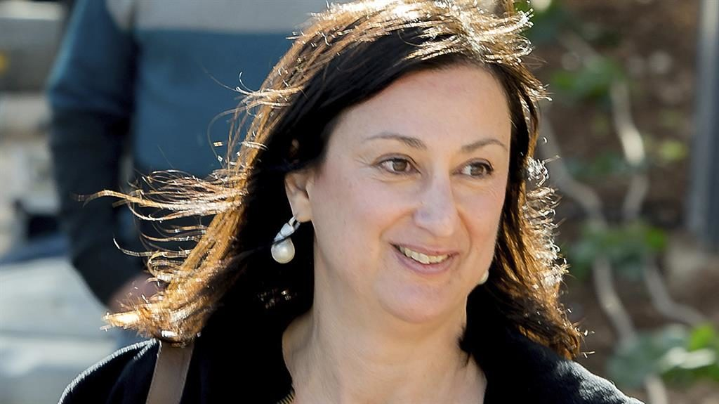 Three charged with Maltese blogger Caruana Galizia murder