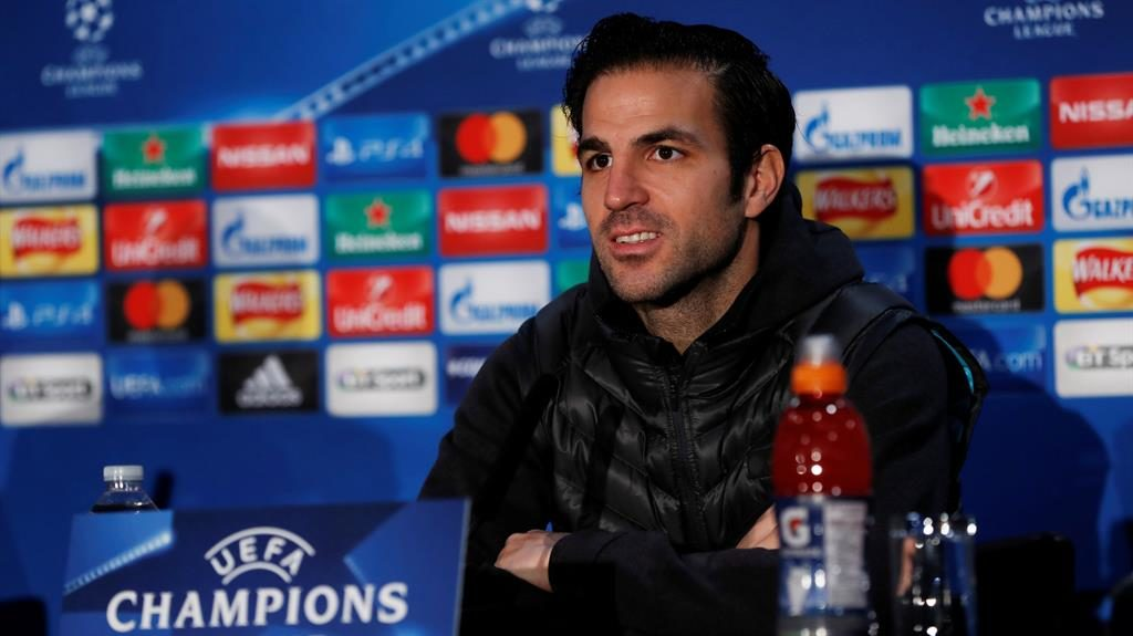 Cesc Fabregas hopes for Champions League success with Chelsea