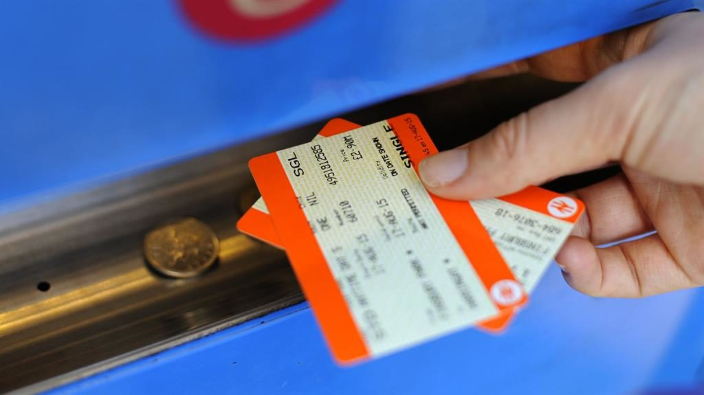 Rail fares to go up by 3.4% from the new year