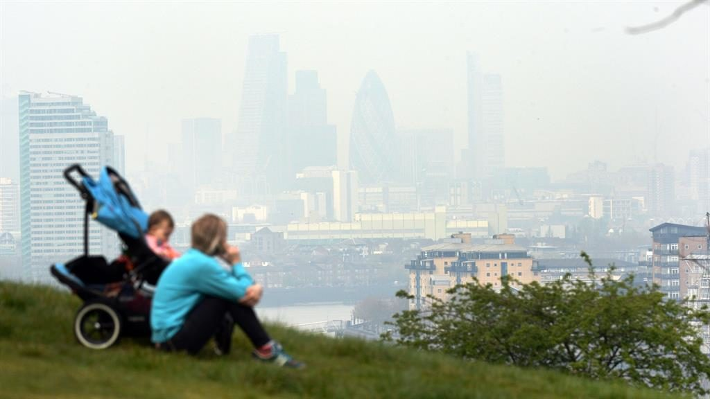 'Concern': Odds rose for small babies in polluted areas of the capital PICTURE : PA