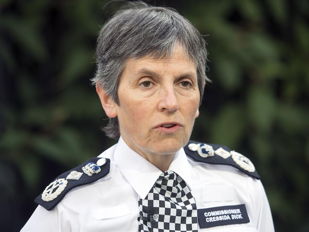 Met chief: 'Damian Green porn claims should not have been revealed'