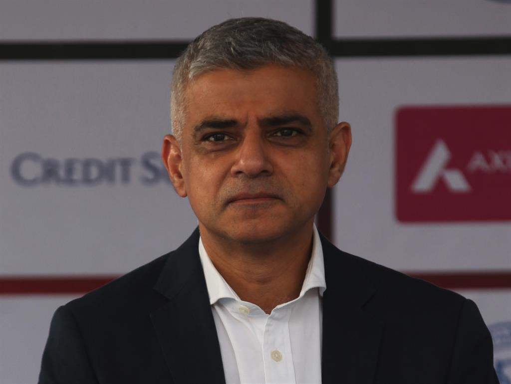 Chaos London mayor Sadiq Khan
