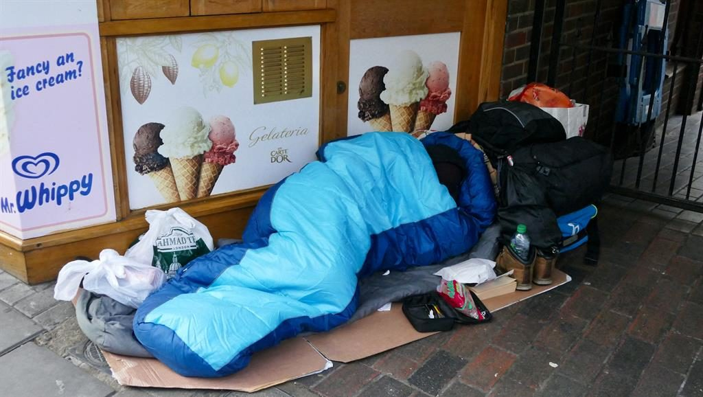 Charity boss comments on 'move rough sleepers' remarks