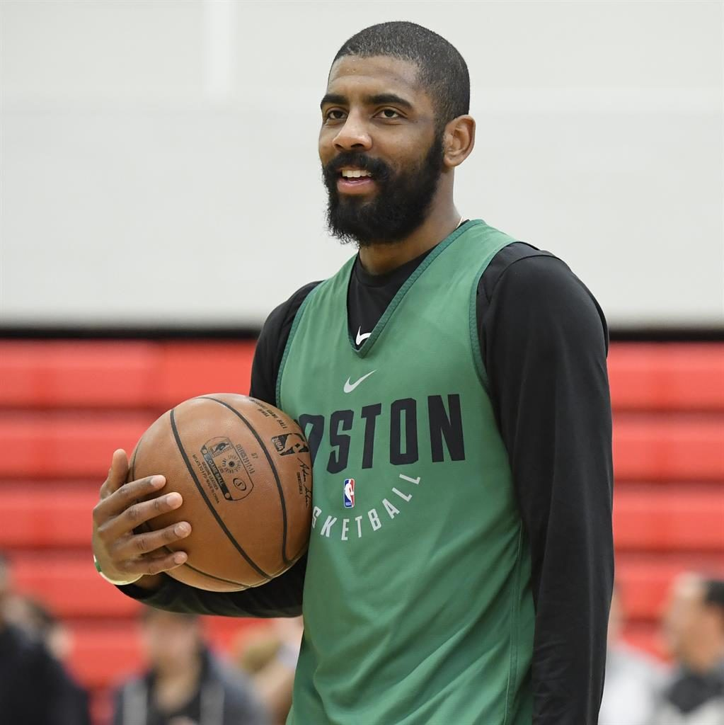 Celtics Hit Practice Floor In London