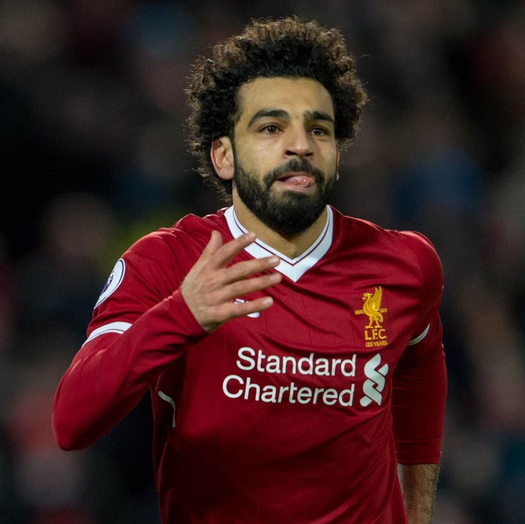 Mo go zone: Liverpool's Salah and City's Aguero (below) will provide the cutting edge for their respective teams