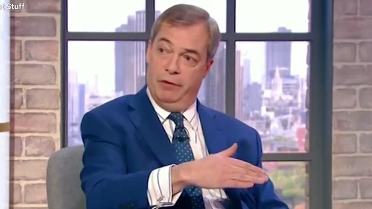 Replay: Mr Farage on TV yesterday