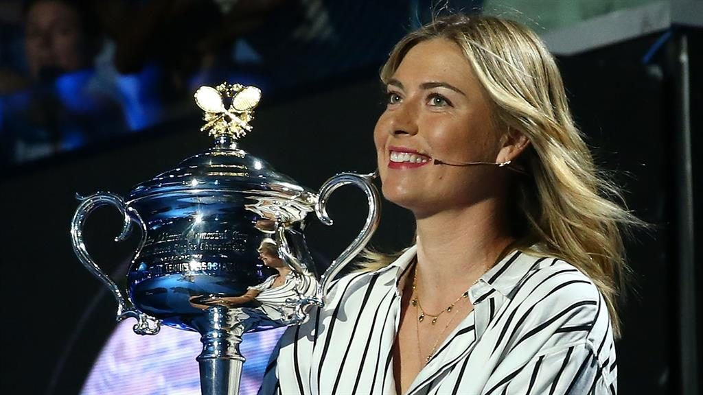Australian Open: Maria Sharapova parading the trophy sends wrong message to dopers