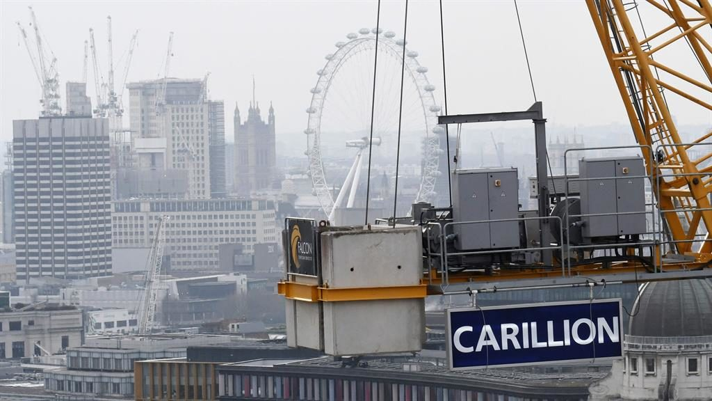 Labour accuses government of negligence after Carillion collapses