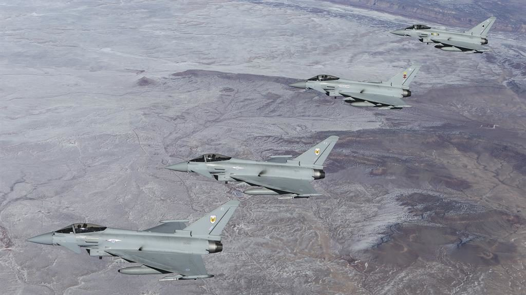 RAF fighter jet scrambled to intercept Russian planes in United Kingdom airspace