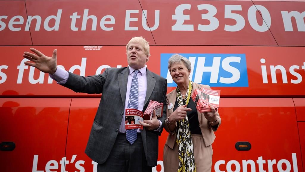 No extra Brexit cash for NHS until Britain leaves
