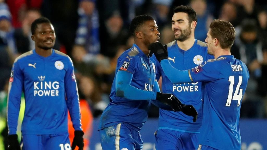Iheanacho scores twice to send Leicester through, makes history
