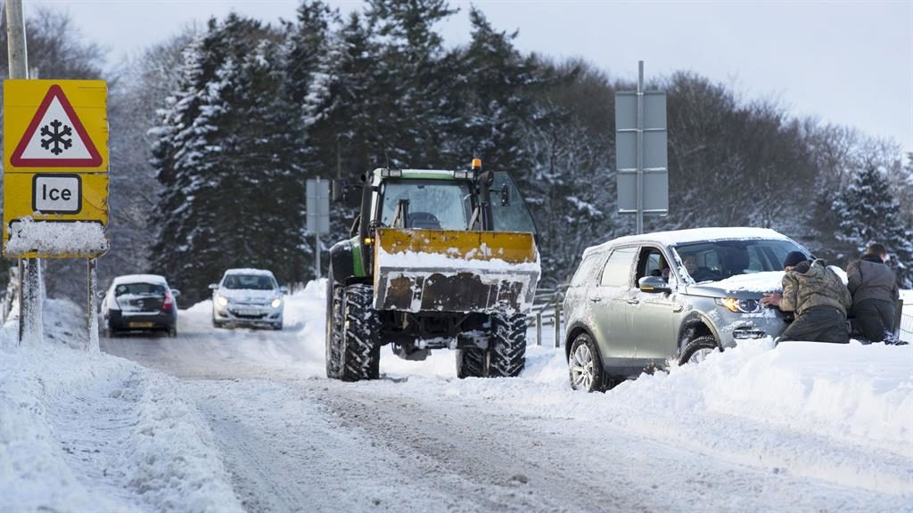 Scotland's weather: More snow and ice into weekend