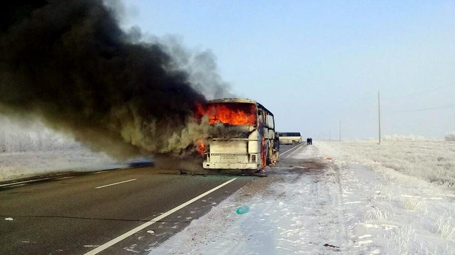 52 people killed in bus fire