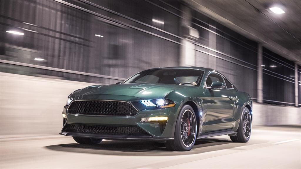 Celebrity endorsement: Ford's new Mustang Bullit PICTURE: PA