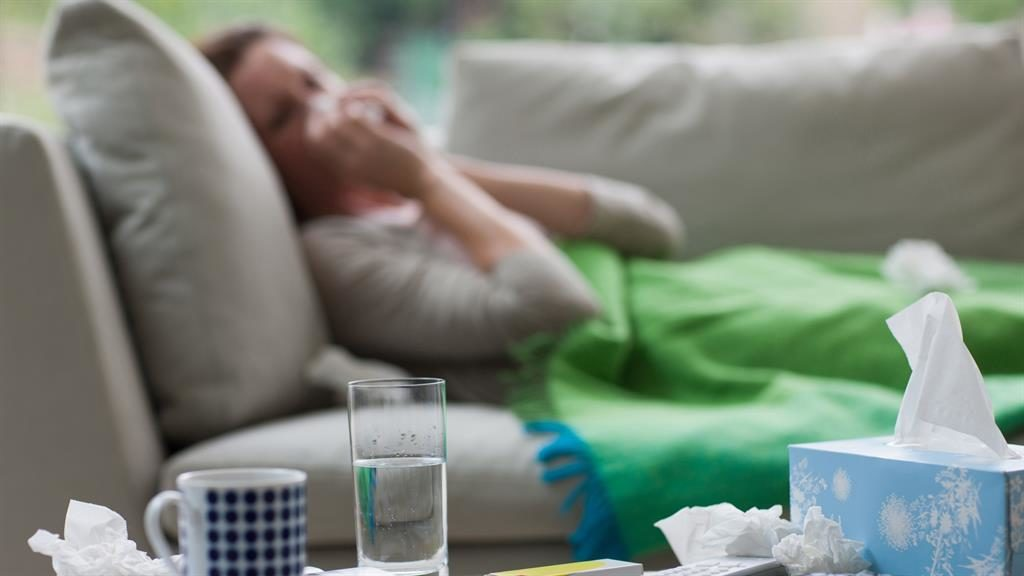Influenza might be spread simply by breathing