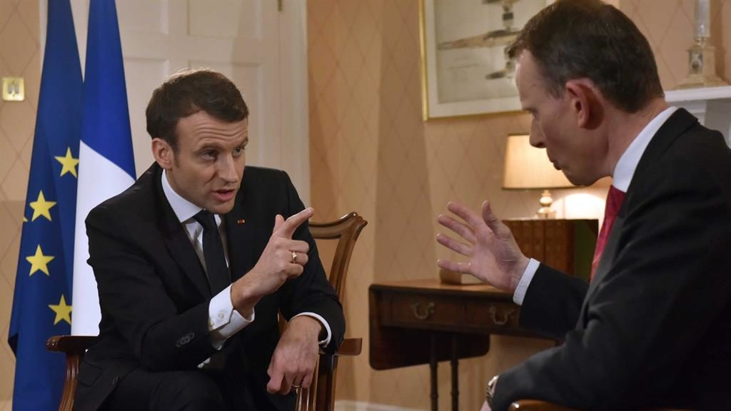 French President Hosts 140 CEOs In Pre-Davos Charm Offensive