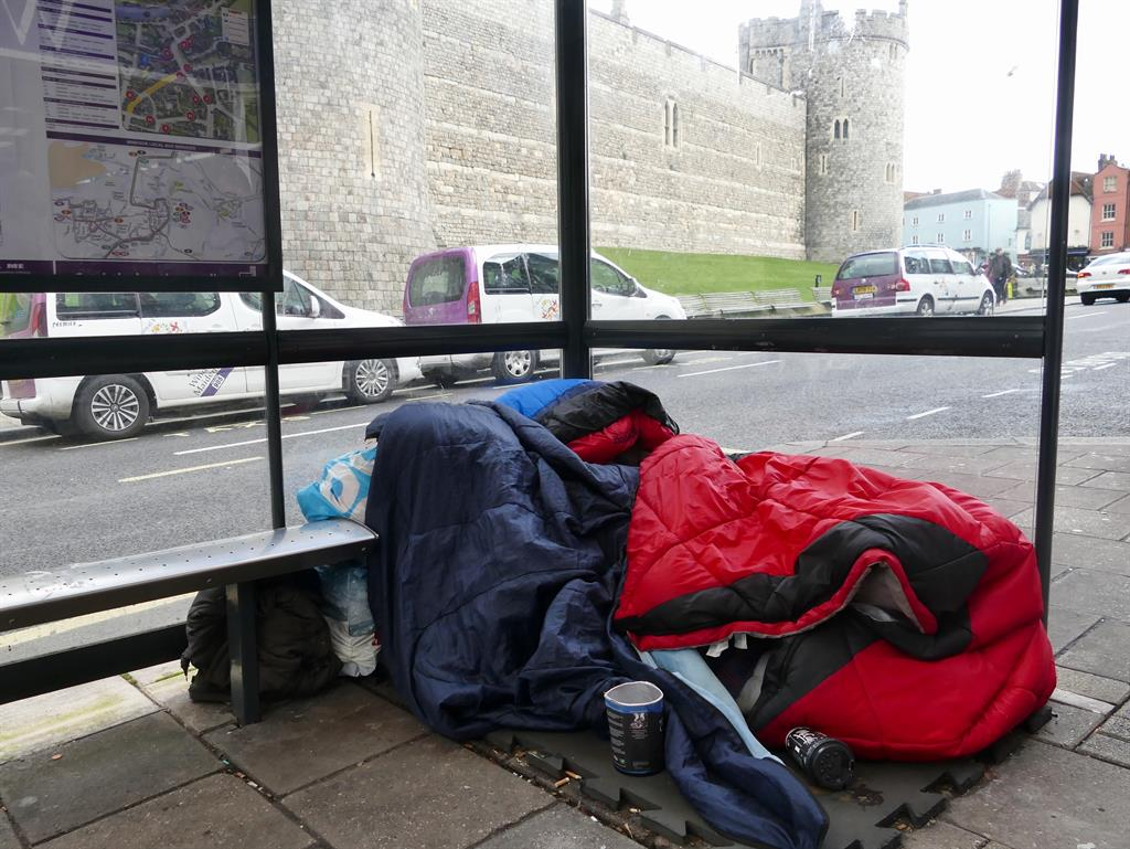 May opposes council leader's proposal to remove homeless before royal wedding