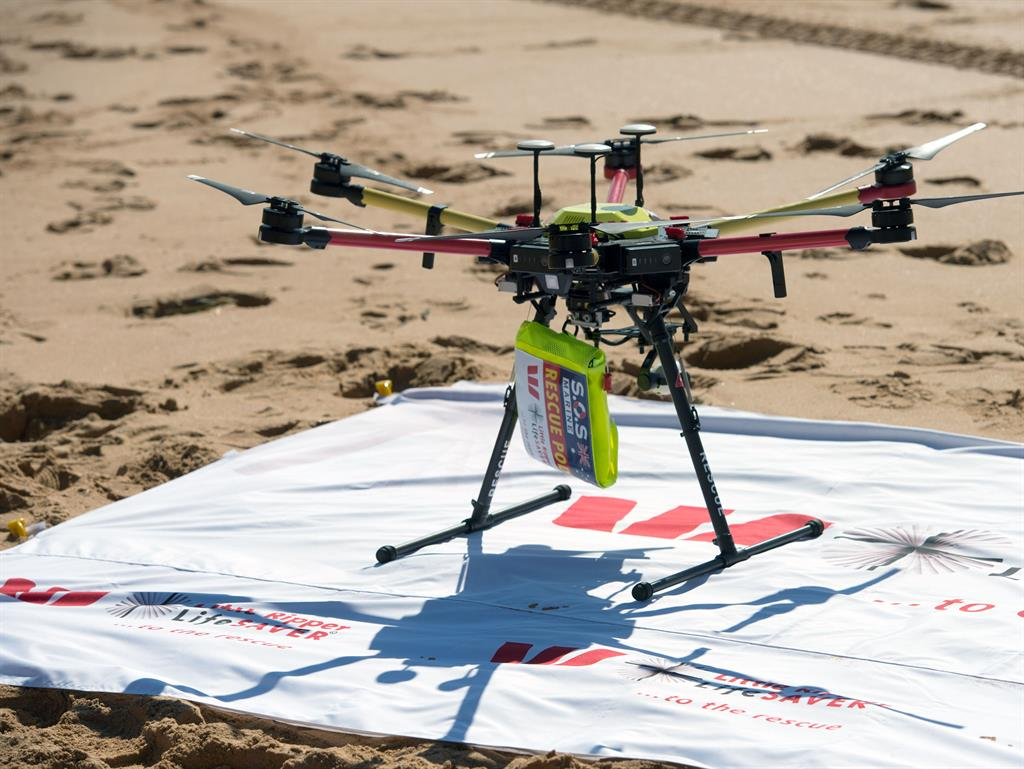 Drone Rescues Swimmers Sooner Than Lifeguards Might've