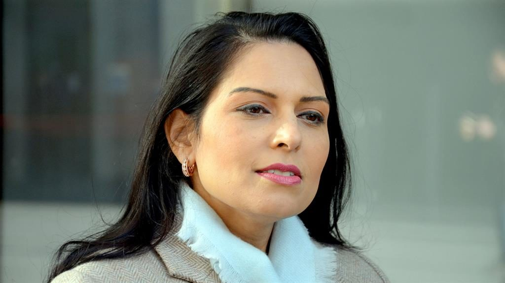 'Denial': Former minister Priti Patel says charities fail to face up to sex predators PICTURE: REX
