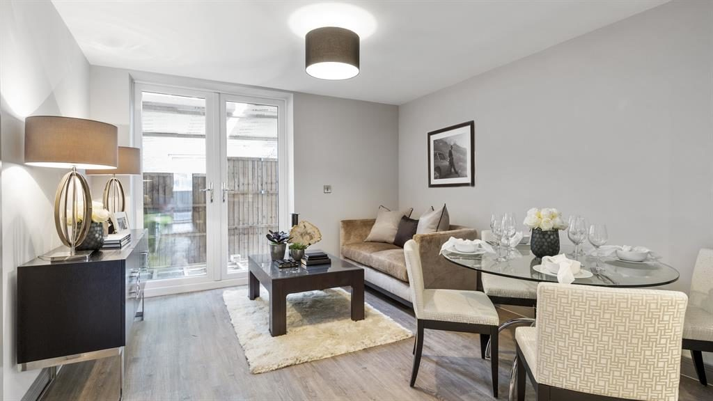 Starter home: The micro-flat is aimed at first-time buyers and buy-to-let investors