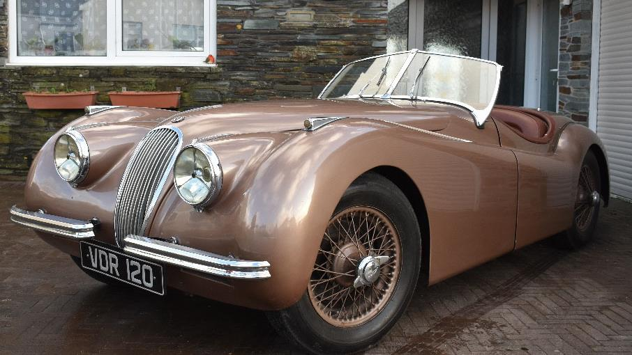 Wonderful Classic: The 1951 Jaguar XK120 Was Sold By The Man Who Has Owned It Since