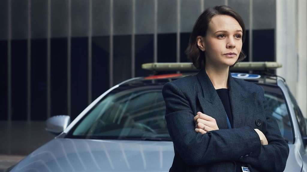 Disarming: Carey Mulligan's character is a refreshing take on the TV detective. Below, John Simm PICTURES: BBC