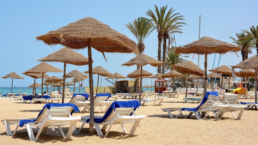 Beach life: Sunny scenes in Sousse,Tunisia