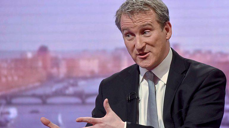 Careers: Damian Hinds tells Marr show that career benefits should be a factor in size of fees PIC: BBC