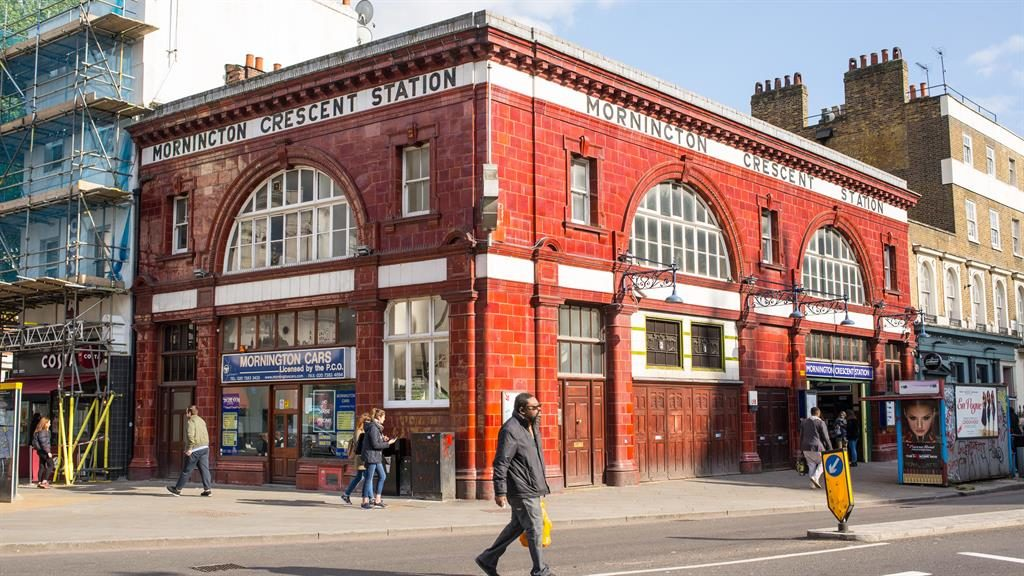 Connected: Mornington Crescent Tube station PICTURE: ALAMY
