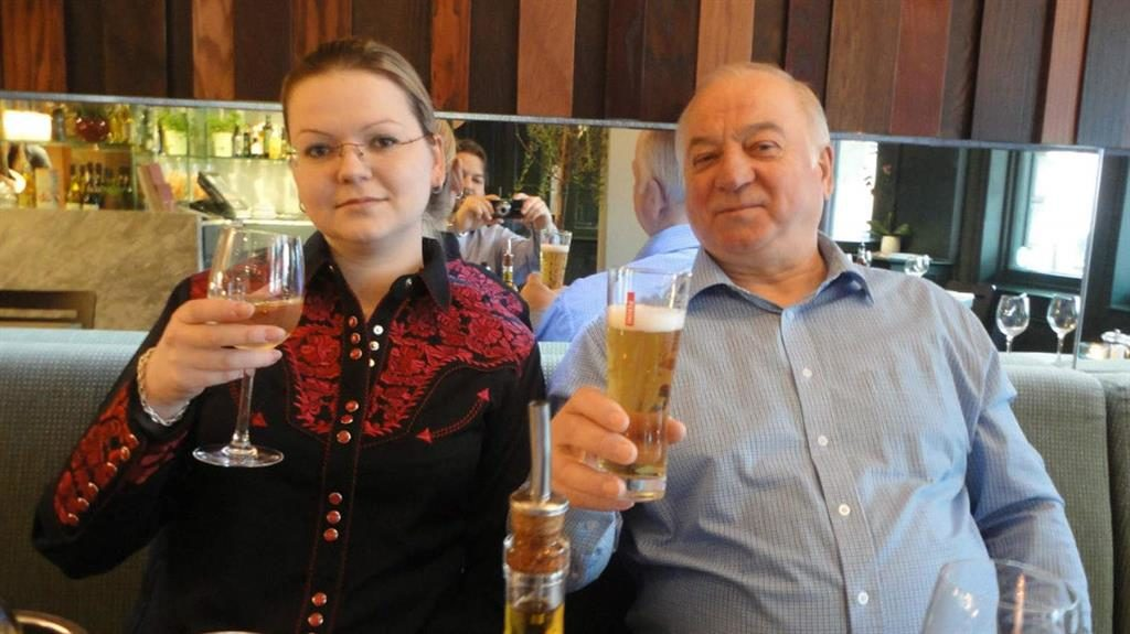 Critically ill: Yulia and Sergei Skripal
