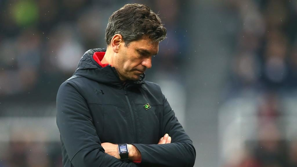 Out of time: Mauricio Pellegrino PICTURE: GETTY