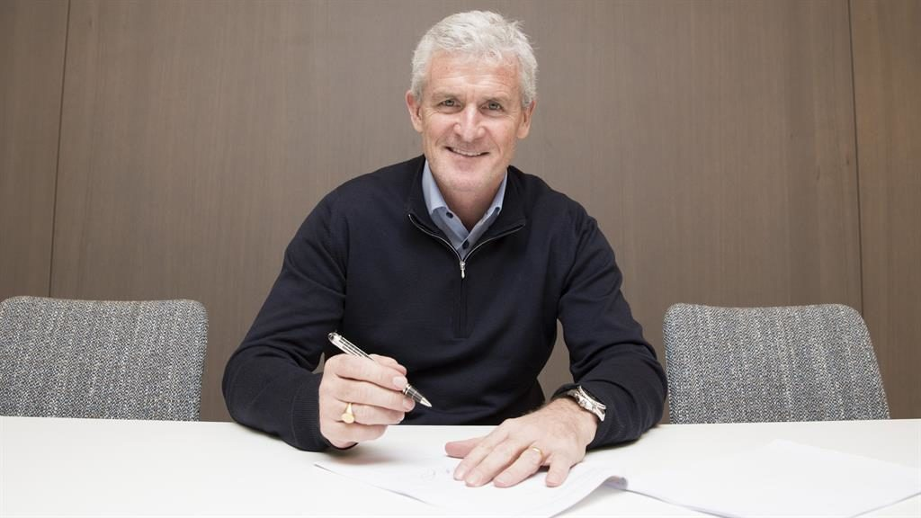 Mark Hughes appointed Southampton's new manager on deal to end of season