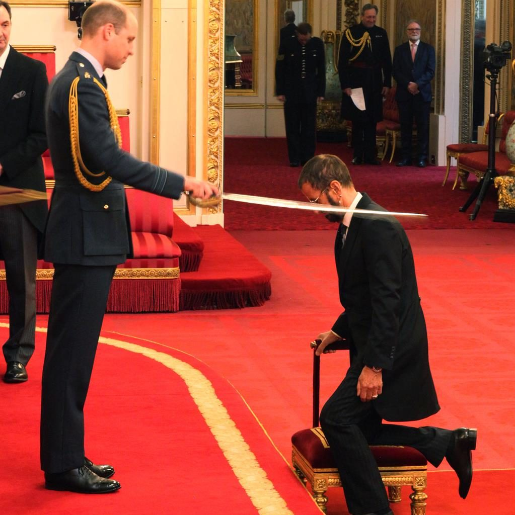 'It means a lot actually': Beatles drummer Ringo Starr receives knighthood