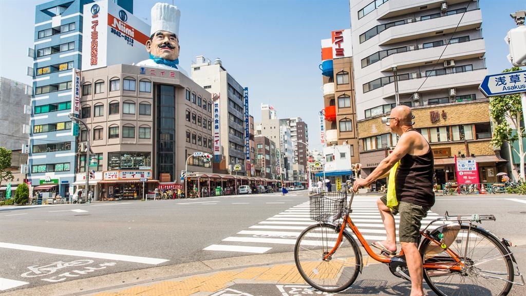 Pans labyrinth: Tokyo's Kitchen Town