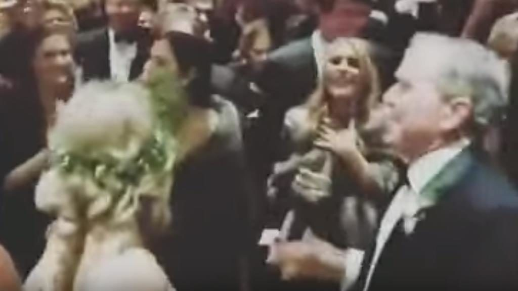George W. Bush shows off his dance moves at nephews wedding