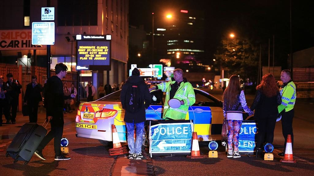 Fire crews kept away from Manchester terror bombing for 2 hours
