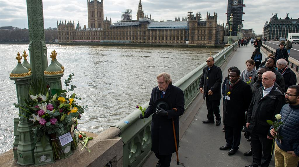 Westminster terror attack: #LondonUnited one year on