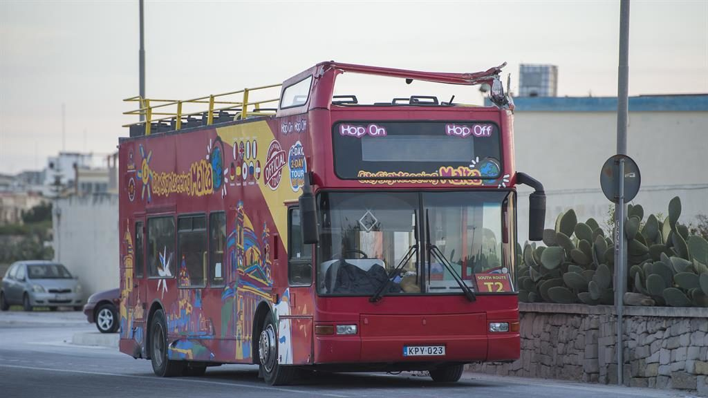 Three Britons including two children injured in Malta tourist bus crash