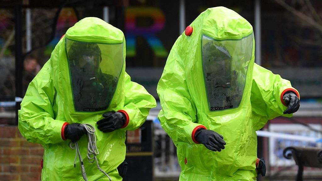 Chemical watchdog confirms novichok poisoned