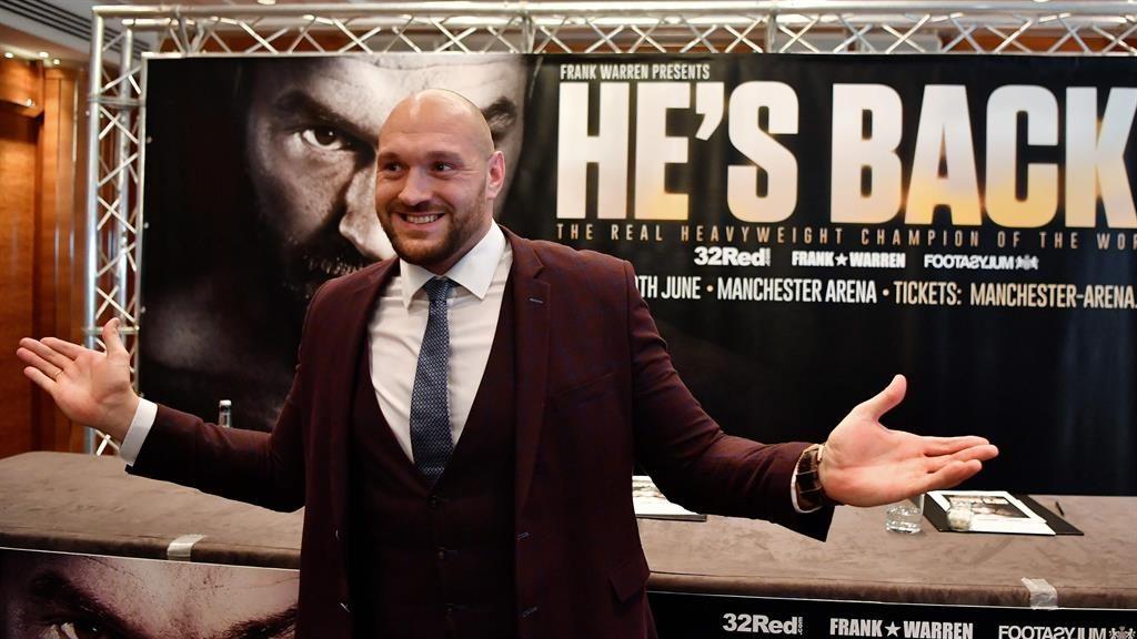 Tyson Fury's long-awaited return confirmed as June date announced
