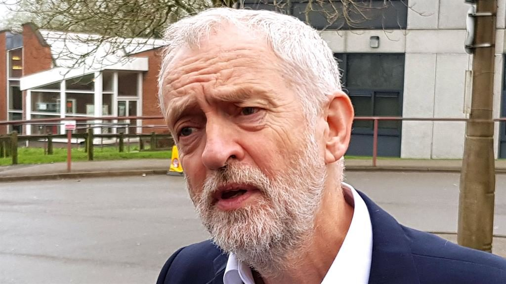 Jeremy Corbyn condemns Syria strikes as 'legally questionable'