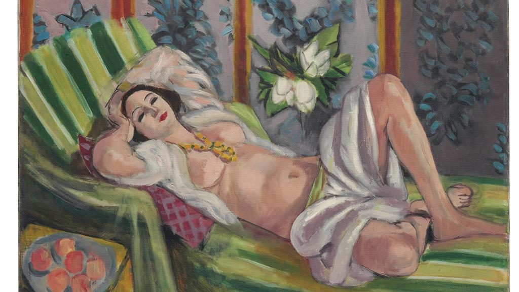 Naked beauty: Matisse's Odalisque Couchée Aux Magnolias PICTURES: SWNS
