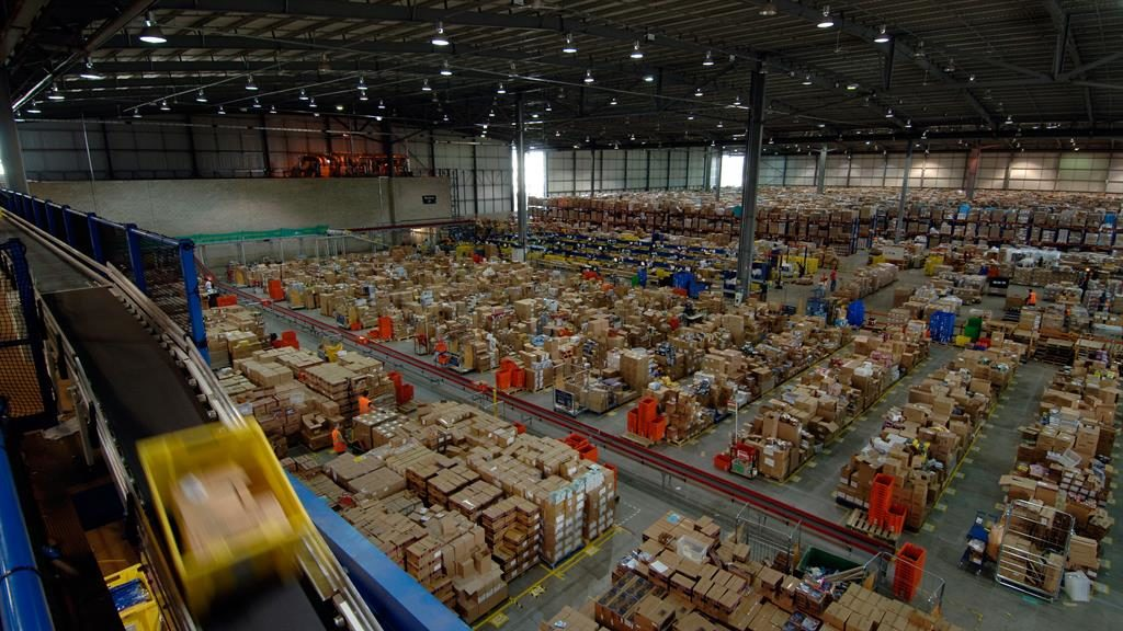 Wee bit far: Staff said to pee in bottles because of Amazon depot size PICTURE: ALAMY